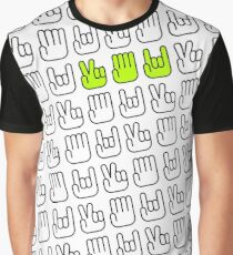 Scisors Paper Rock Graphic T-Shirt
