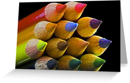 Coloured Tips by Robyn Carter