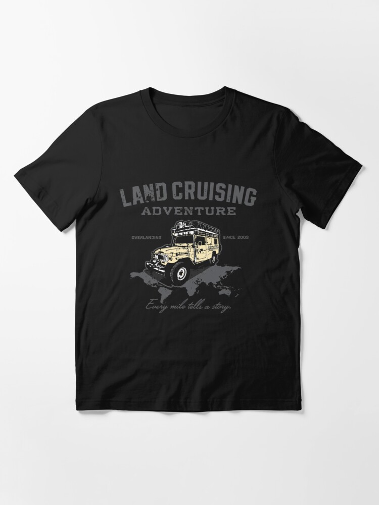 Alternate view of Every Mile Tells a Story - transparant Essential T-Shirt