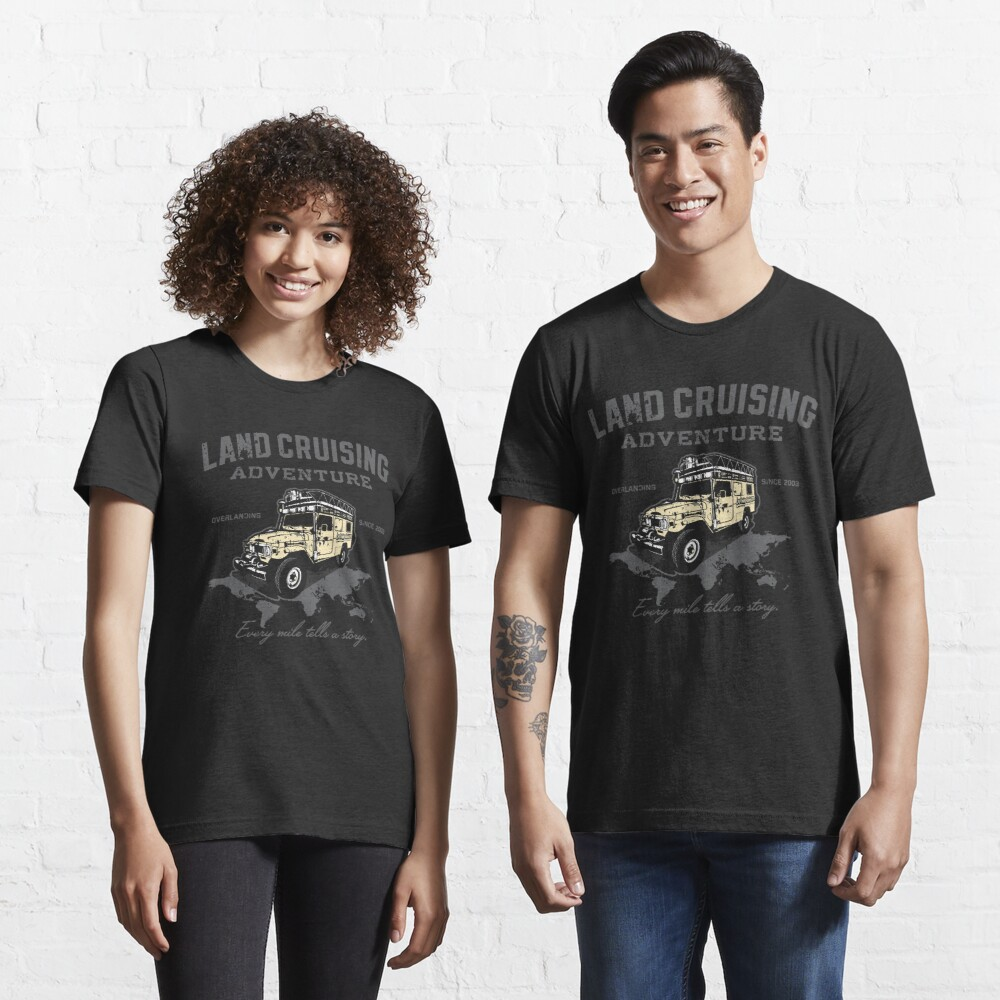Every Mile Tells a Story - transparant Essential T-Shirt