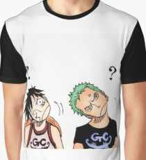 One Piece : Luffy x Zoro Graphic T-Shirt