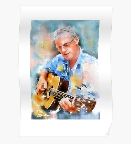 My guitar buddy Poster