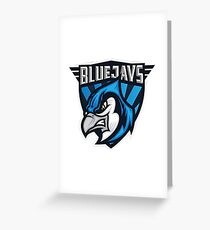 Blue Jays Toronto MLB Greeting Card