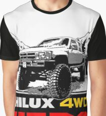Hilux Hero Jeep Graphic T-Shirt