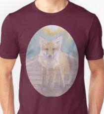 Fox on rail track T-Shirt