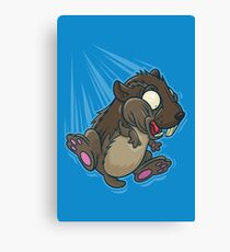 Lemming Base Jumping Canvas Print