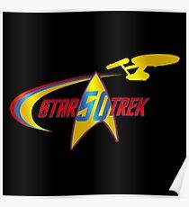 Star Trek - Happy 50th Poster