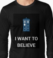 I Want To Believe - Doctor T-Shirt