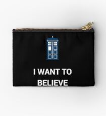 I Want To Believe - Doctor Studio Pouch