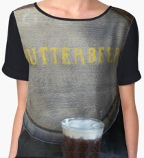 Butterbeer Chiffon Top