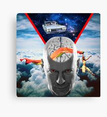 Mental Floss (Staring Bruce Willis) Canvas Print