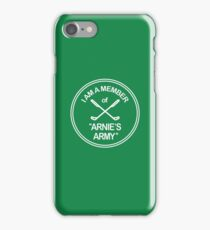 Arnie's Army T-Shirt - Arnold Palmer iPhone Case/Skin