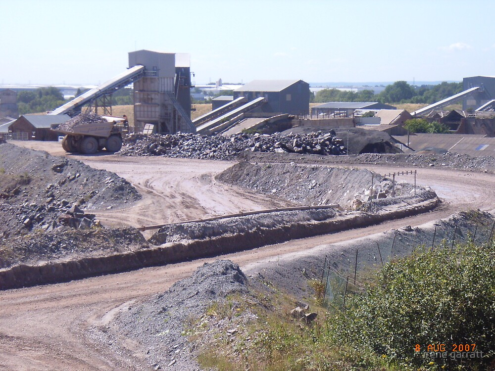 Bardon quarry by irene garratt