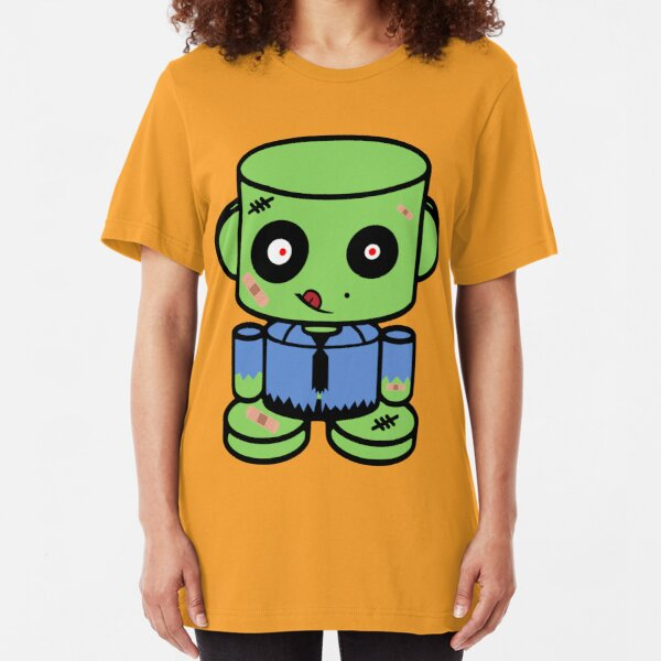 Thato Duende ZOMBIO'BOT Toy Robot Slim Fit T-Shirt