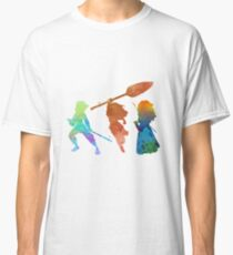 Powerful Princesses Inspired Silhouette Classic T-Shirt