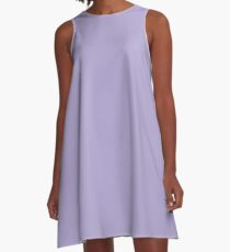 Lavender A-Line Dress