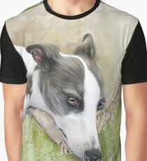 Whippet in Repose Graphic T-Shirt