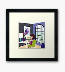 Business Planning Framed Print