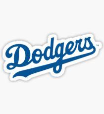 Dodgers Sticker