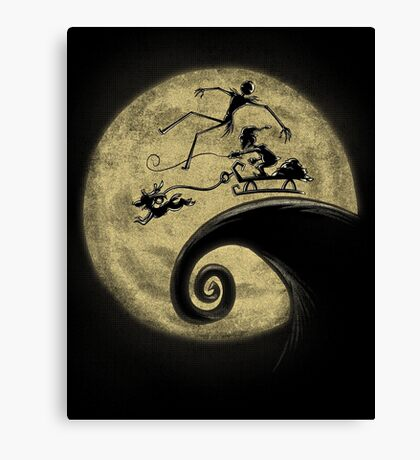The Nightmare Before Grinchmas Canvas Print