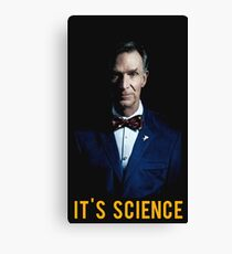 bill nye Canvas Print