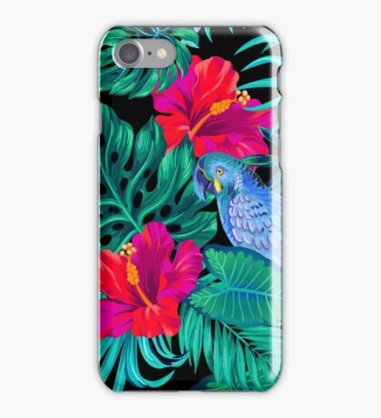 blue macaw parrots.  iPhone Case/Skin