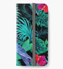 blue macaw parrots.  iPhone Wallet/Case/Skin