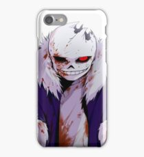 Blood Sans iPhone Case/Skin