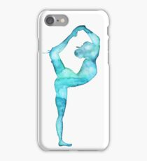 Lord of the dance yoga pose iPhone Case/Skin