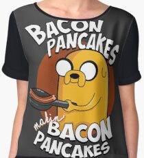 Bacon Pancakes Women's Chiffon Top