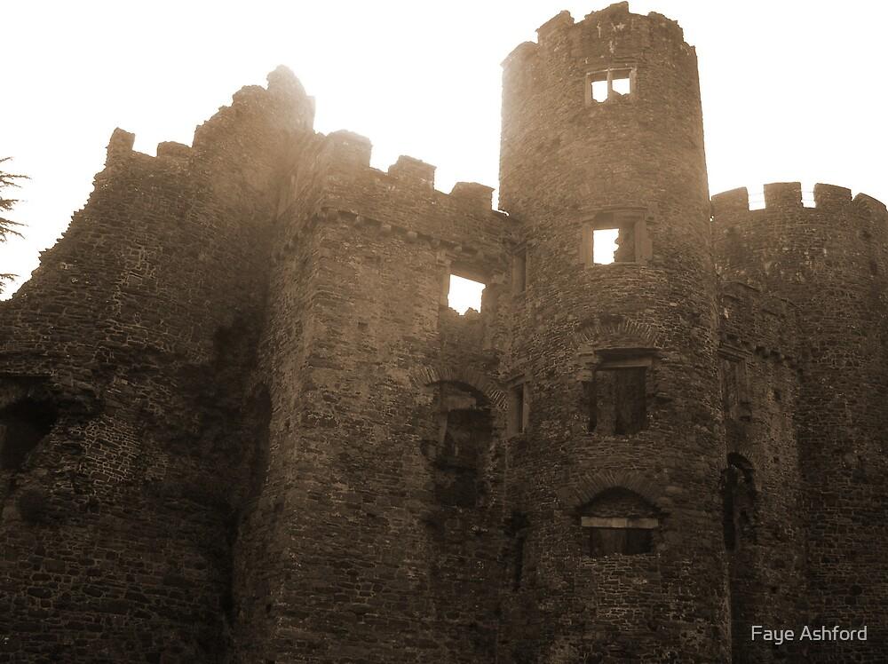 Laugharne Castle 2 by Faye Ashford