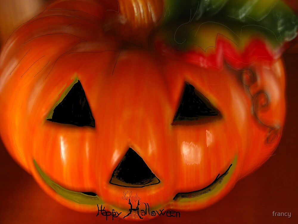 halloween by francy