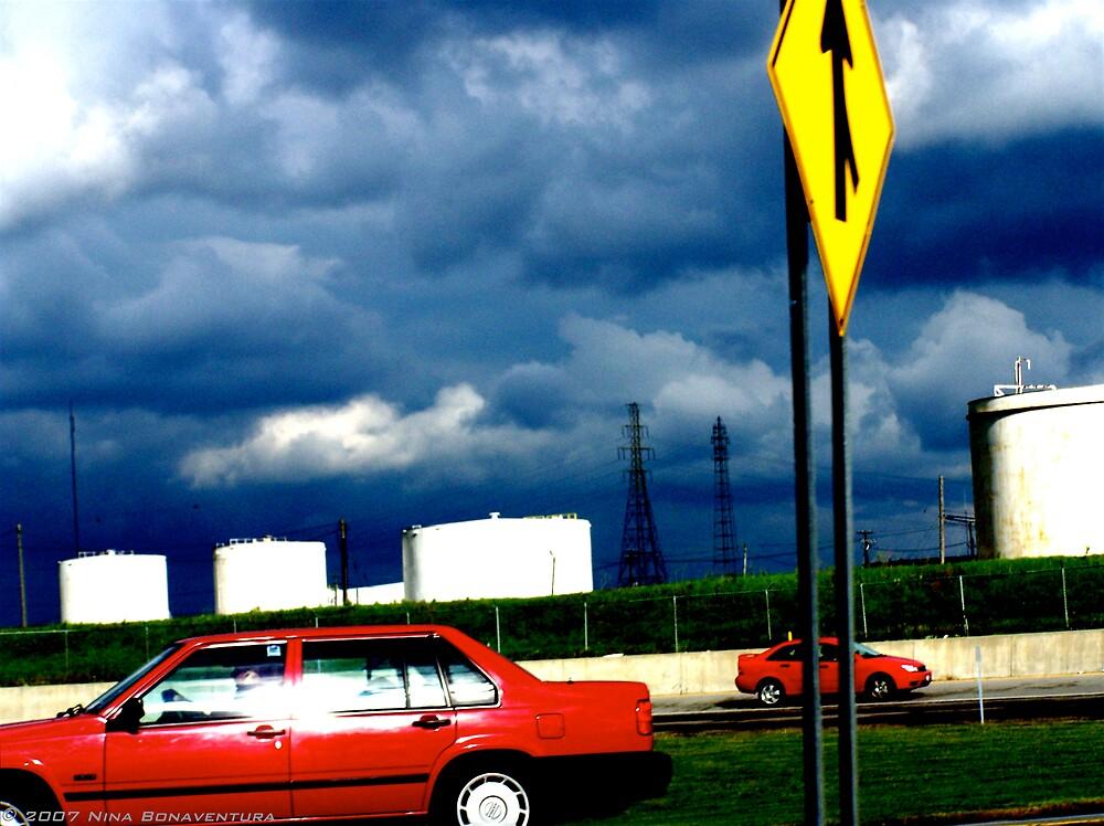 red cars by NinaB