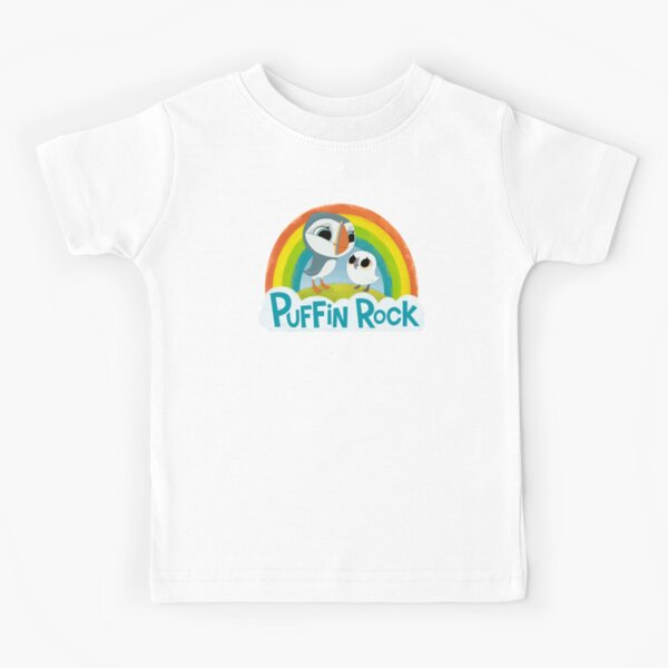 Puffin Rock Logo Kids T-Shirt