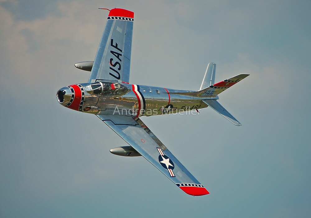 F-86 Sabre by Andreas Mueller