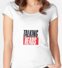Talking Heads Women's Fitted Scoop T-Shirt