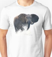 ELEPHANT IN WATER Unisex T-Shirt