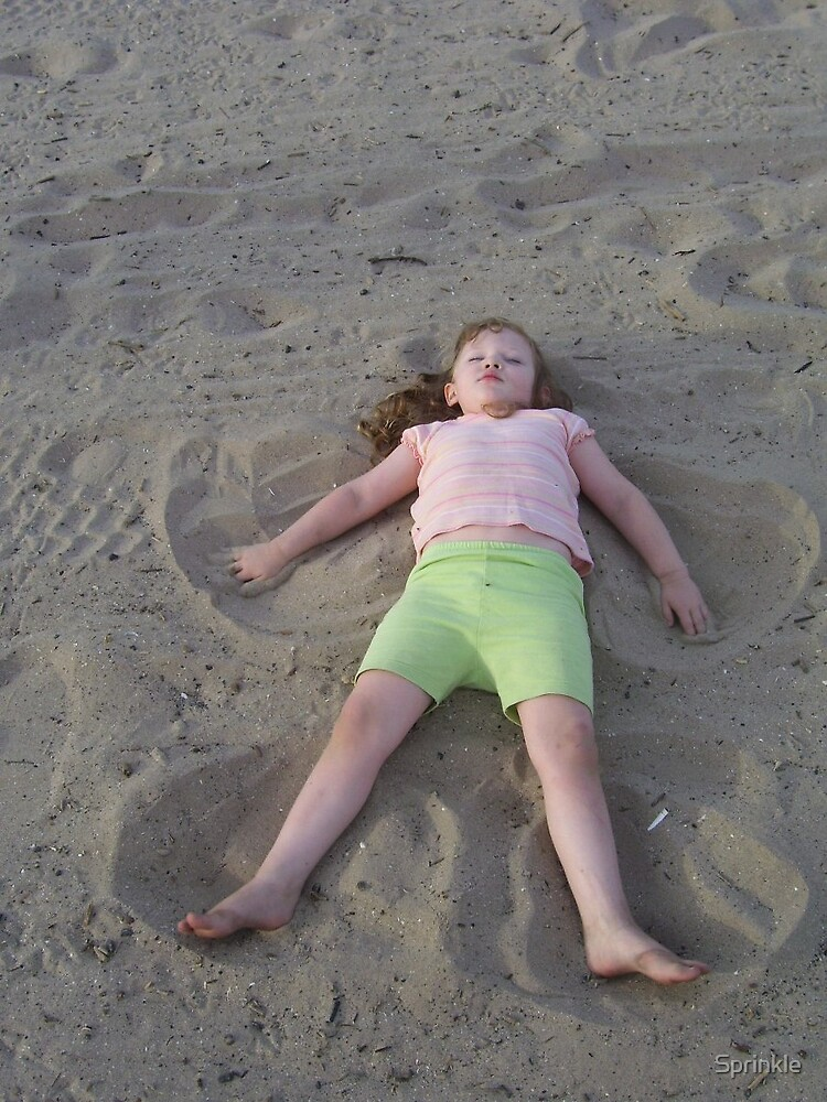 Angel in the Sand by Sprinkle