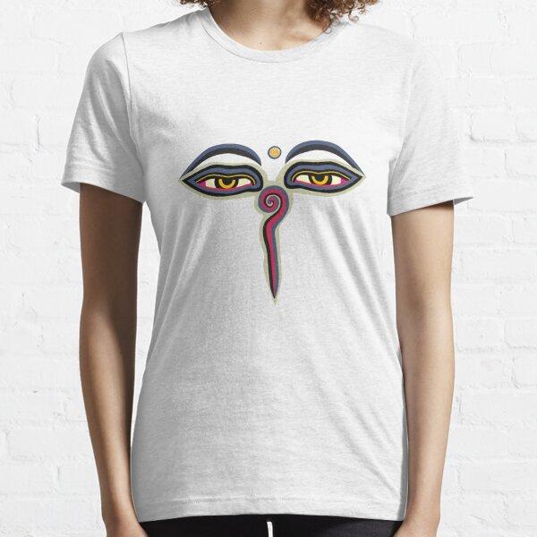 ~? ~ Les yeux de Bouddha ~? ~ T-shirt essentiel