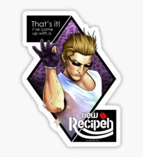 Ignis, New Recipeh! Sticker