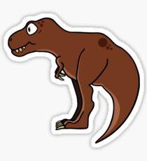 Cute T-rex clip art / Sweet Tyrannosaurs image Sticker