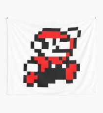 invader_mario Wall Tapestry