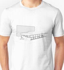 Architecture Warsaw Post-war Modernism - CHEMIA PAVILION Unisex T-Shirt