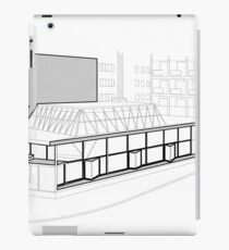 Architecture Warsaw Post-war Modernism - CHEMIA PAVILION iPad Case/Skin