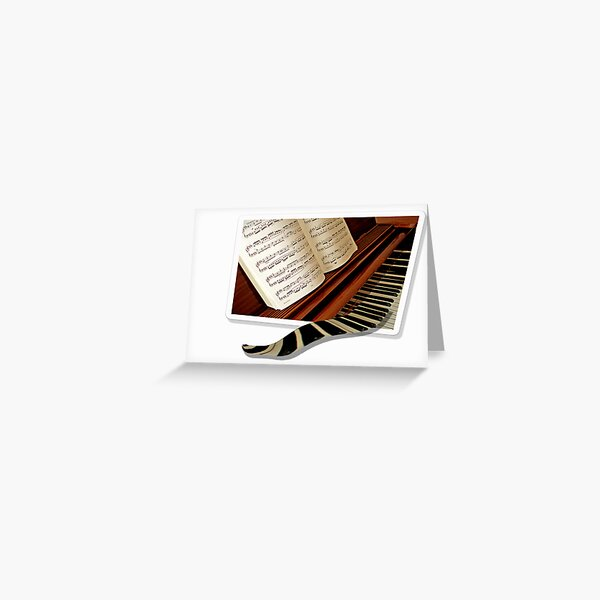 Let music fly away Greeting Card