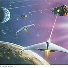Asteroid Patrol 2050 by Brian Towers