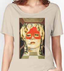 Salvador Dali Mae West Surrealist Famous Paintings Women's Relaxed Fit T-Shirt