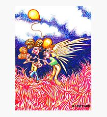 Carnival Abduction Photographic Print