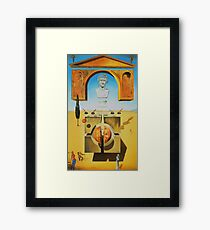 Salvador Dali Atomicus Surrealist Famous Painters Poster Framed Print