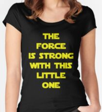 The Force Women's Fitted Scoop T-Shirt